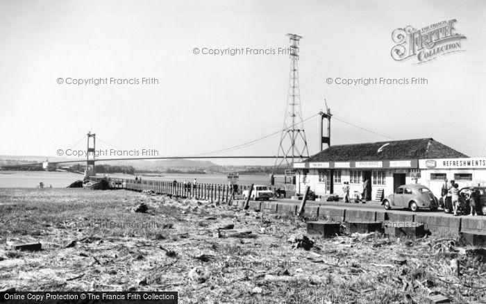 Photo of Aust, Severn Bridge 1966