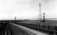 Aust, The Severn Bridge And The Ferry c.1966
