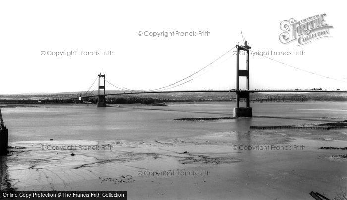 Photo of Aust, The Severn Bridge c.1966