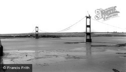 Aust, The Severn Bridge c.1966