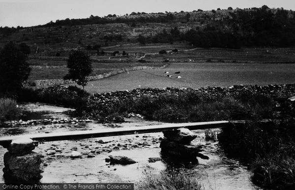 Photo of Austwick, Flascoe Bridge And The Wood c.1955