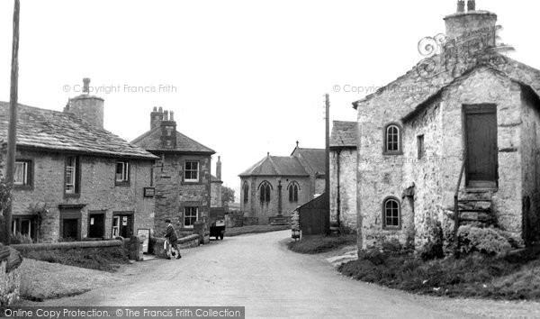 Austwick, Main Street And Post Office c.1955