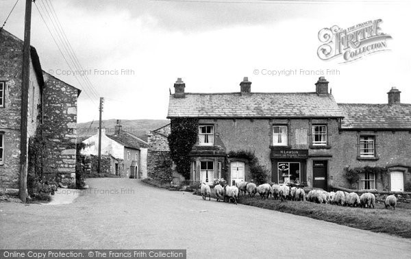 Photo of Austwick, The Village c.1950