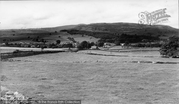 Photo of Austwick, Village And Long Scar c.1960