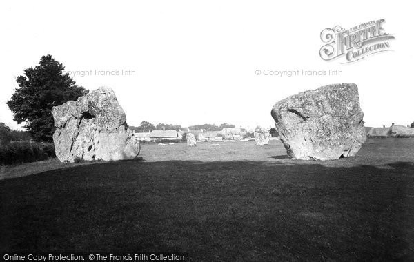 Photo of Avebury, c.1900