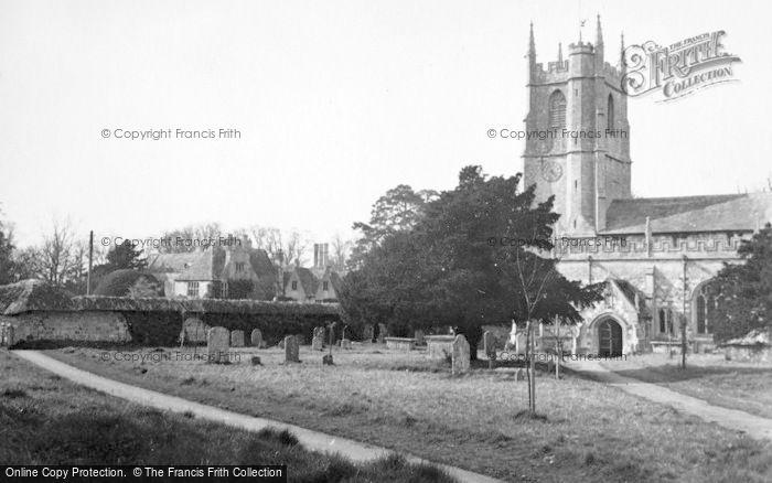 Photo of Avebury, Church c.1950