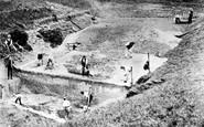 Avebury, Excavations c.1908