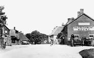 Avebury, High Street East c.1909