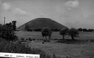 Avebury, Silbury Hill c.1955