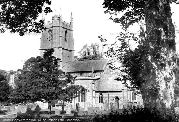 Photo of Avebury, St James' Church c.1955