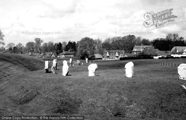 Photo of Avebury, The Circle c.1955