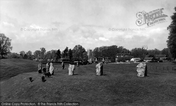 Avebury, The Circle c.1955
