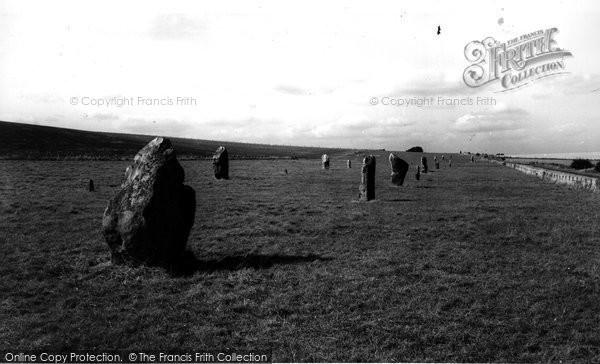 Photo of Avebury, The Circle c.1955