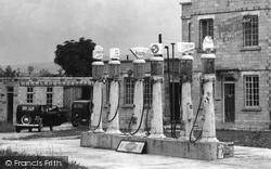 Avebury, The Petrol Pumps, Rawlins' Garage c.1945
