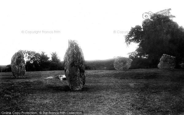 Photo of Avebury, The Stones 1899