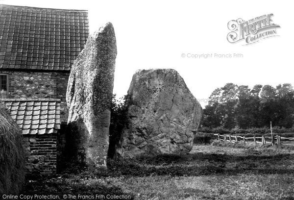 Photo of Avebury, The Stones 1899