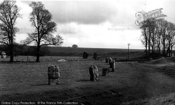 Avebury, The Stones c.1955
