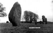 Avebury, the Stones c1955