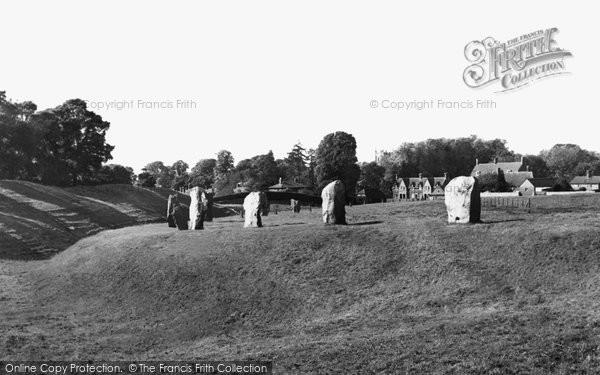 Photo of Avebury, The Stones c.1955