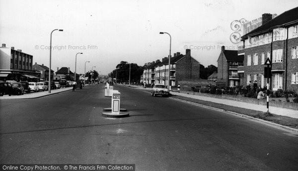 Aveley, Belhus Estate c.1960