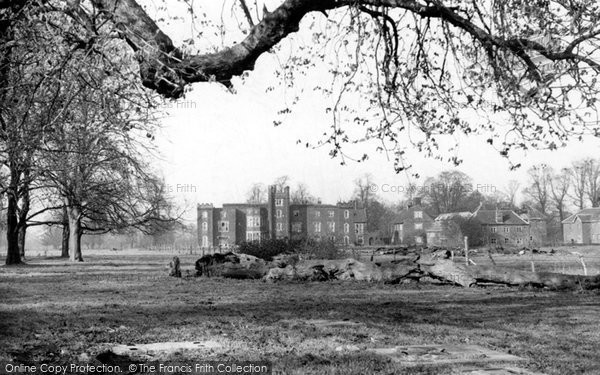 Photo of Aveley, Belhus House c.1955