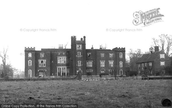 Photo of Aveley, Belhus House c.1955
