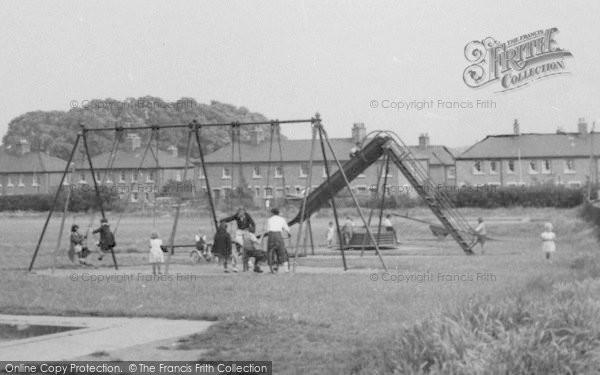 Photo of Aveley, Children In The Playground c.1955