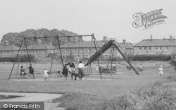 Aveley, Children In The Playground c.1955