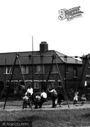 Aveley, Children's Corner, The Swing c.1950