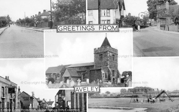 Photo of Aveley, Composite c.1950