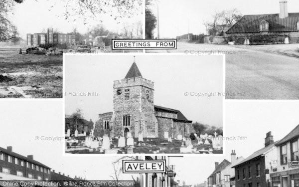 Photo of Aveley, Composite c.1955