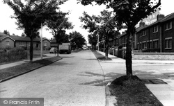 Aveley, Dacre Avenue c.1960