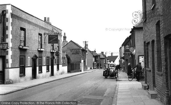 Photo of Aveley High Street 1952, ref. a110003