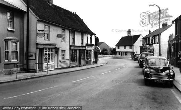 Photo of Aveley, High Street c.1960