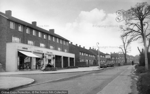 Photo of Aveley, Kennington Estate c1955