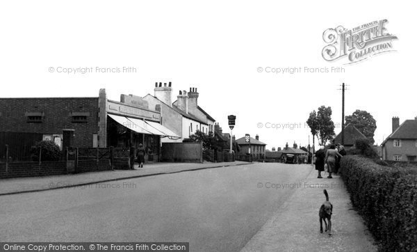 Photo of Aveley, Purfleet Road c1955, ref. a110004