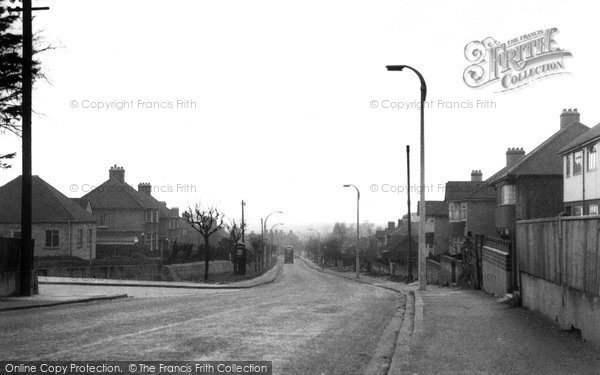 Photo of Aveley, Purfleet Road c.1955