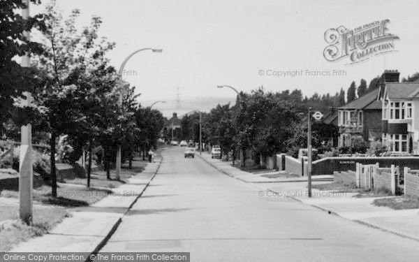Photo of Aveley, Purfleet Road c.1960