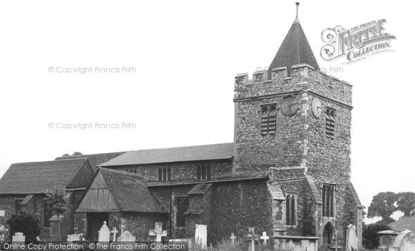 Photo of Aveley, St Michael's Church c.1955