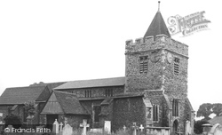 Aveley, St Michael's Church c.1955