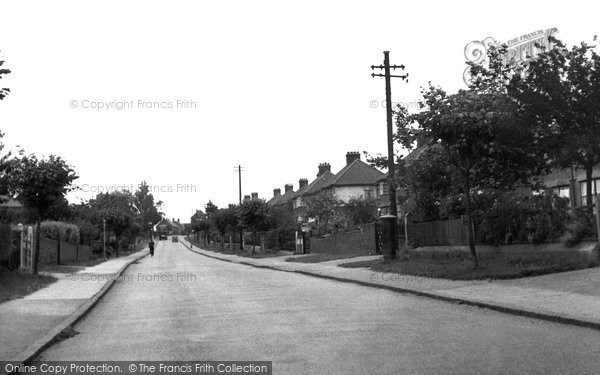 Photo of Aveley, Stifford Road c.1950