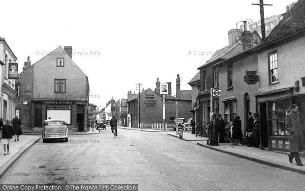 Aveley, The High Street c.1955