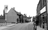 Aveley, The High Street c.1955
