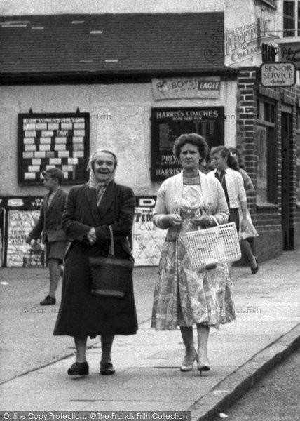 Photo of Aveley, Women Shopping c.1960