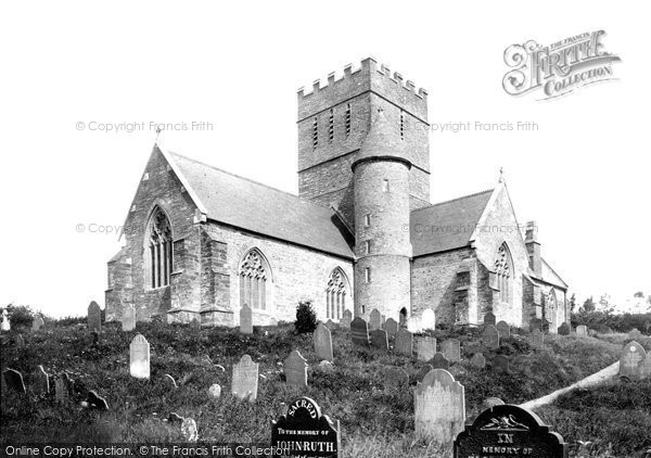 Photo of Aveton Gifford, St Andrew's Church South West 1890