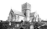 Aveton Gifford, Church south west 1890