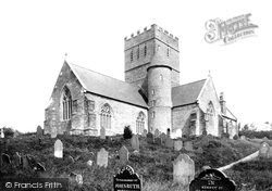 Aveton Gifford, St Andrew's Church South West 1890