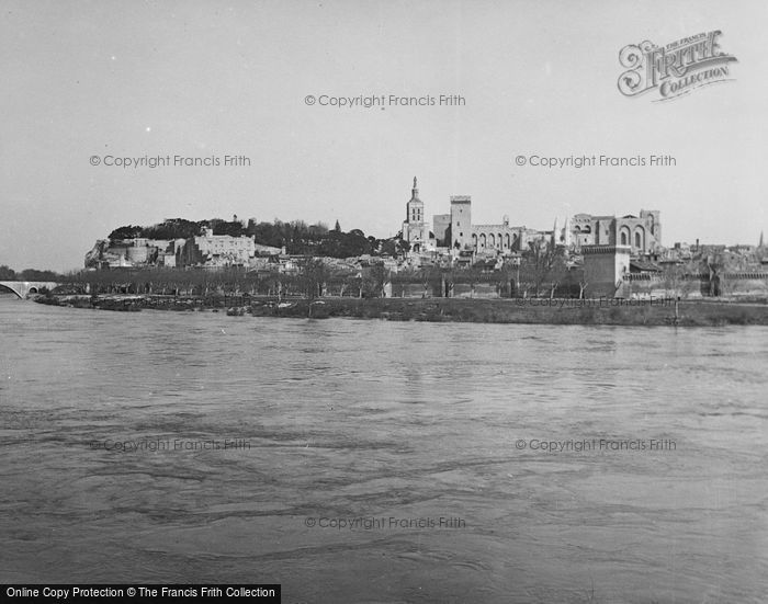Photo of Avignon, From The River c.1939
