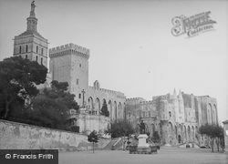 The Palace Of The Popes 1939, Avignon