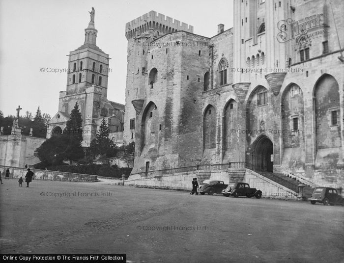 Photo of Avignon, The Palace Of The Popes 1939